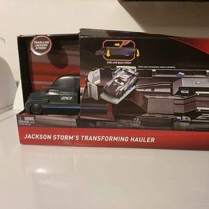 New disney cars 3 jackson storms transforming haul